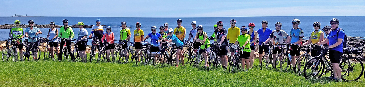 Wednesday Wheelers on Cape Ann